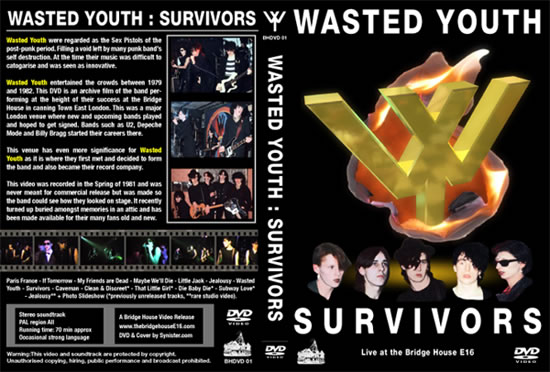 Wasted Youth - Survivors cover